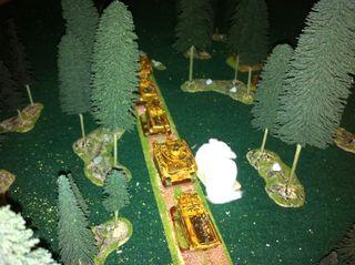 Ambush diorama