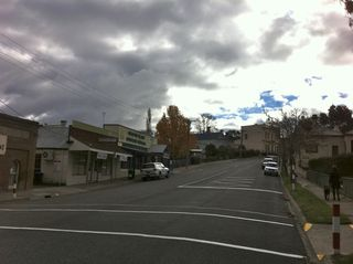 Omeo centre on Sat morning