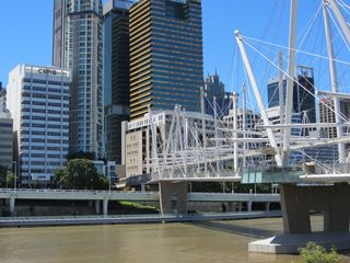Brisbane river footbridge - 1