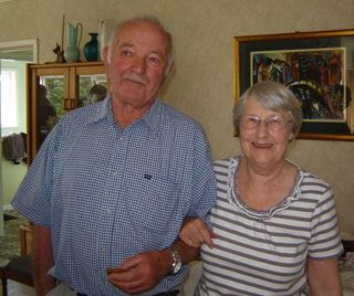 Pat and June