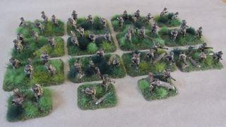 Australian Infantry - Full company