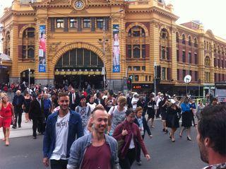 A safe Flinders Street