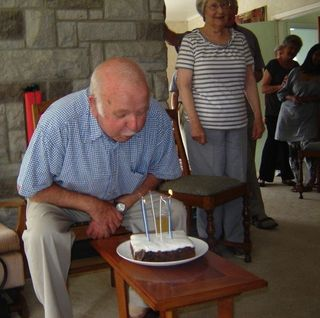 Pat and his cake