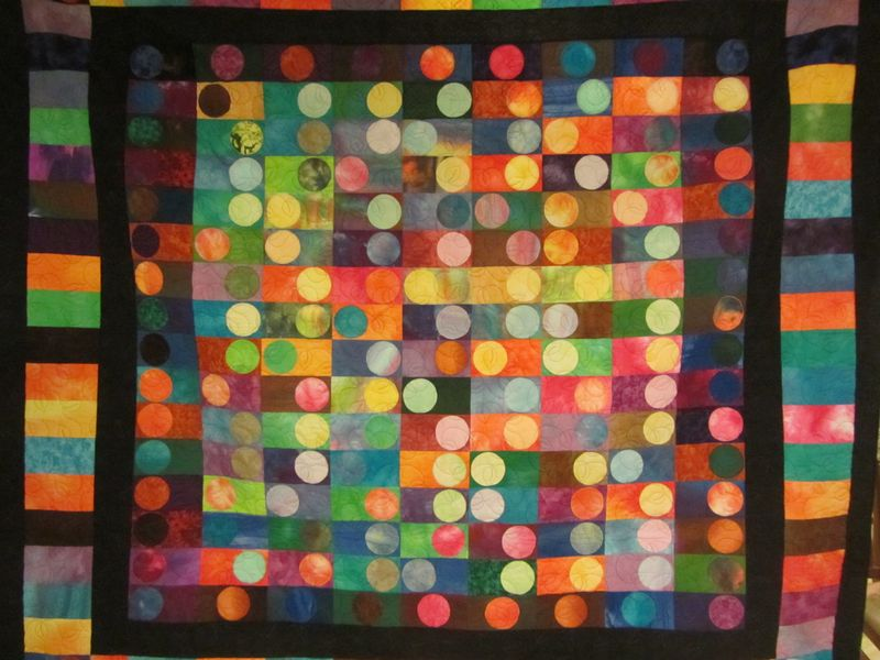 Bryony's 21st Quilt - 1