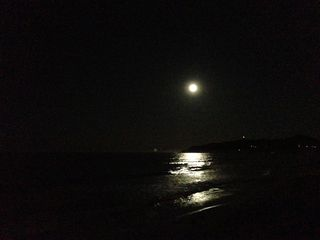 Byron Bay moon rise