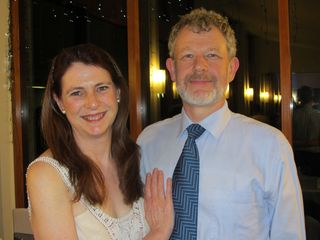 Susan & Michael at reception