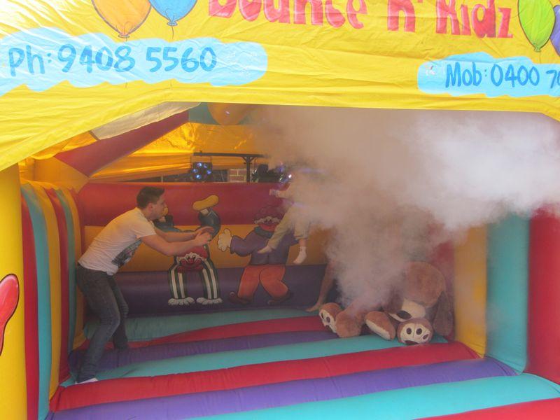 Jumping Castle Smoke - 3