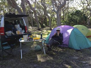 Myall Lakes NP, Stewart & Lloyds Camp Site - 1