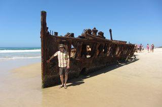 Maheno Shipwreck - 03