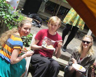 Olga, Callum & Allison