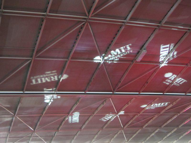 Laser lights for RMIT