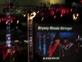 Bryony graduates!