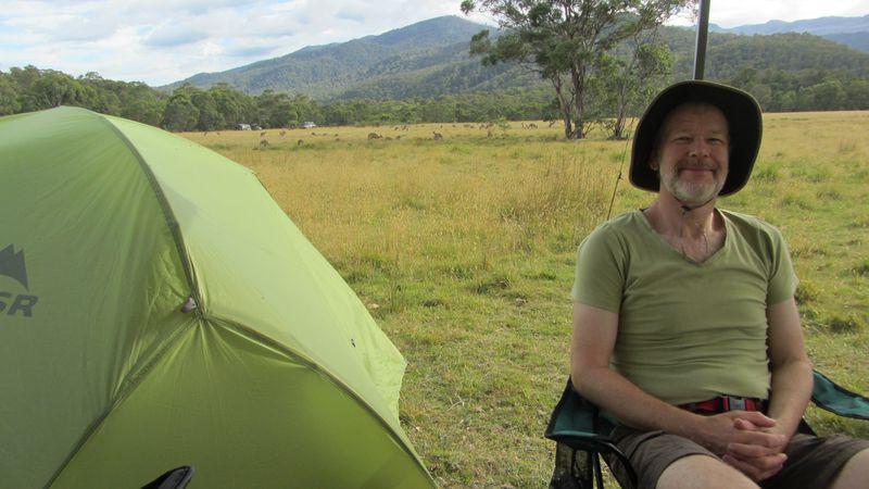 Tom Groggin campsite - 2